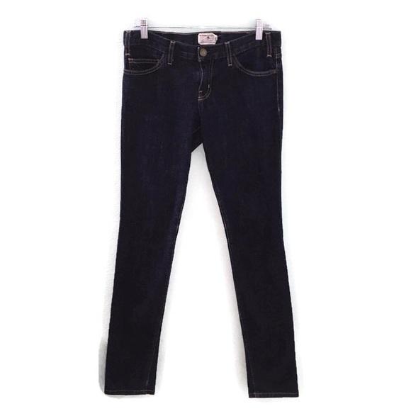 Current/Elliott Denim - Current/Elliott Deadstock Blue Denim Skinny Jeans